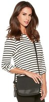 M&Co Striped jersey blouse