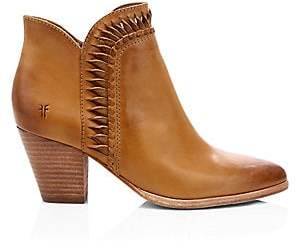 Frye Women's Reed Twisted Leather Ankle Boots
