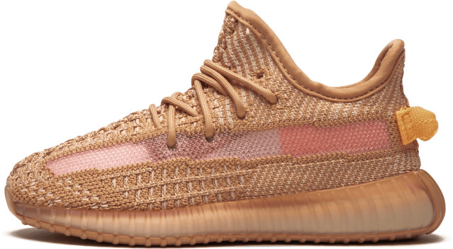 Adidas Yeezy Boost 350 v2 Infant 'Clay' Shoes - Size 5K