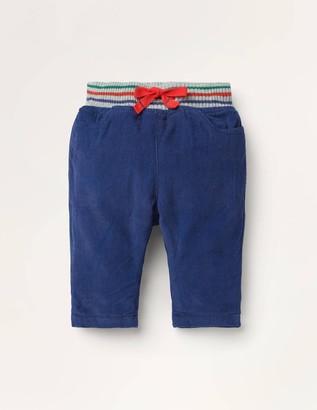 Rib Waist Trousers