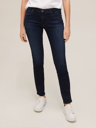 AG Jeans The Prima Cigarette Jeans, Navy