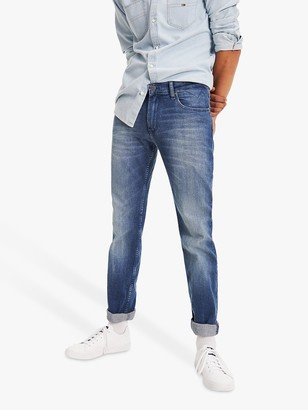 Tommy Hilfiger Tommy Jeans Original Ryan Straight Berry Jeans, Berry Mid Blue