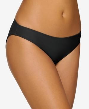 Hula Honey Juniors' Solid Bikini Bottoms, Created for Macy's Women's Swimsuit