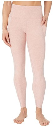 Beyond Yoga Spacedye In The Mix High Waisted Midi Leggings (Tinted Rose/Pink Quartz) Women's Casual Pants