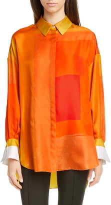 PARTOW Hugo Silk Shirt