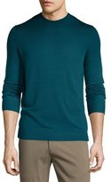 Theory Remsey Dip-Dye Crewneck Sweater, Plankton Multi