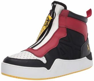 Armani Exchange A|X Men's Zip Up High Top Sneaker