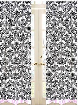 JoJo Designs Sweet Sophia Collection Window Panels