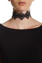 Amrita Singh Marta Black Lace Choker