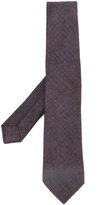 Kiton dogtooth tie - men - Silk/Wool - One Size