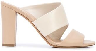 Vince Colour-Block Mule Sandals