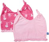 Kickee Pants Double Knot Hats (Baby) - Lotus/Mary Quite Contrary - 12-24 Months