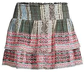 Ramy Brook Women's Odessa Embroidered Skirt