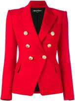 Balmain double breasted blazer - women - Cotton/Spandex/Elastane/Viscose - 42