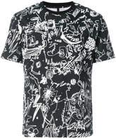 Versus scribble print T-shirt