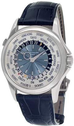 Patek Philippe 2007 pre-owned World Time 39mm