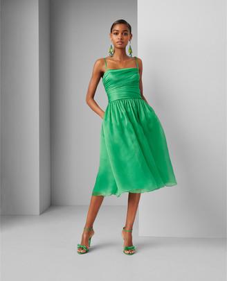 Ralph Lauren Annora Silk Organza Dress
