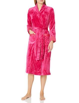 Miss Elaine Women's Sesoire French Fleece Ballet Wrap Robe