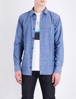 A.P.C. Regular-fit cotton-chambray shirt
