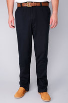 Yours Clothing Harbour Bay Navy Chino Trousers- TALL