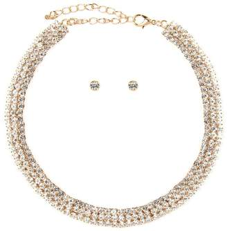 Riah Fashion 3mm-3line Choker-Set