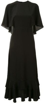 Alexis Cateline cape dress