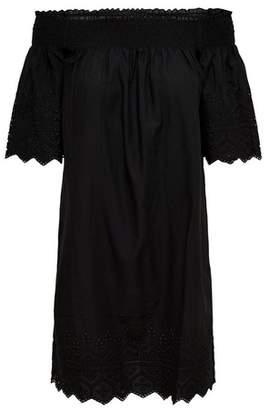 Dorothy Perkins Womens **Only Black Off Shoulder Cotton Dress, Black