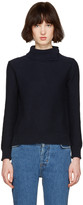A.P.C. Navy Anouk Turtleneck