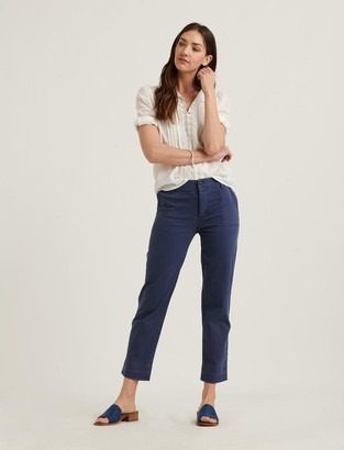 Lucky Brand Mid Rise Utility Straight Pant