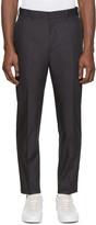 Acne Studios Black Aron T Pop Trousers