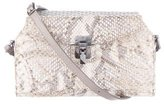 VBH Python Triple Flap Crossbody Bag