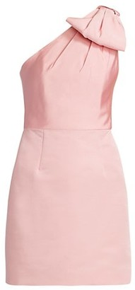 Alexia Maria Blair Bow One-Shoulder Dress