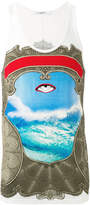 Givenchy Eye print tank top