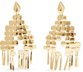Aurelie Bidermann Marella Gold-plated Earrings