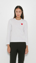 "Comme des Garcons "" Play Long Sleeve T-Shirt"
