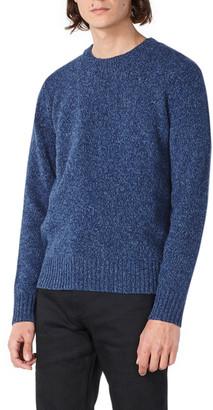 A.P.C. Men's Marcus Multicolor Merino Crewneck Sweater