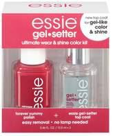 Essie gel.setter Duo Kits - forever yummy 1 fl oz