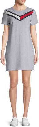 Tommy Hilfiger Logo Stretch T-Shirt Dress