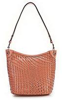 Cole Haan Genevieve Woven Bucket Hobo Bag