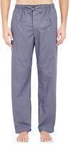Barneys New York Men's Checked Pajama Pants-NAVY, GREY, DARK GREY