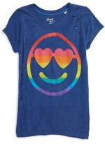 Flowers by Zoe Girl's Happy Face Tee