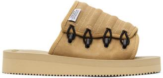 Suicoke Beige MURA-VS Sandals