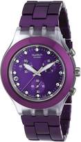 Swatch Men's SVCK4048AG Quartz Date Dial Crystal Watch