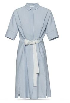 Fabiana Filippi Striped Seersucker Dress