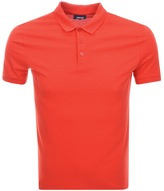 Giorgio Armani Jeans Short Sleeved Polo T Shirt Red