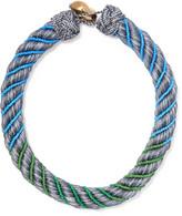 Aurelie Bidermann Maya braided beaded necklace