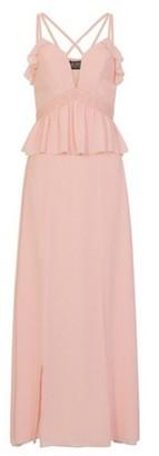 Dorothy Perkins Womens Girls On Film Dusty Pink Chiffon Maxi Dress, Dusty Pink