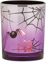 Lenox Halloween Spider Glass Votive