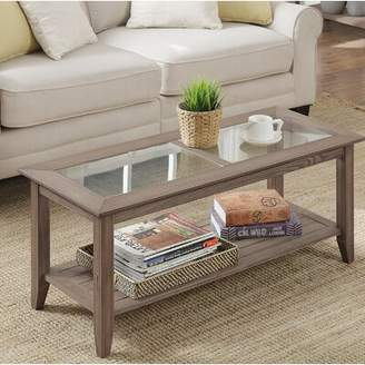 Andover Mills Moana Coffee Table Table Base Color: Driftwood