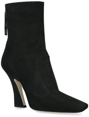 Fendi Leather Ankle Boots 65